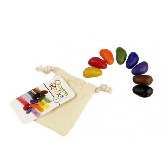 Crayon Rocks - 8 cores - Saco de Algodão