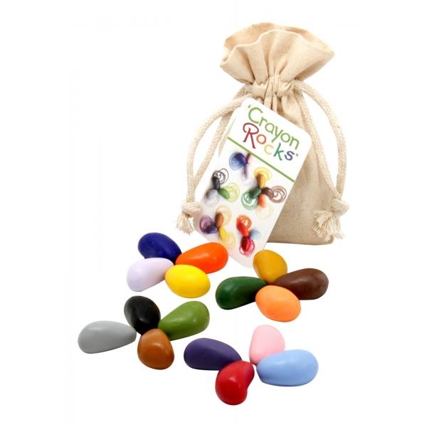 Crayon Rocks - 16 cores - Saco de Algodão