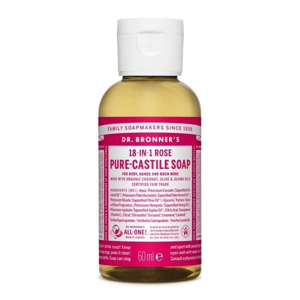 Sabonete Líquido Biológico Dr. Bronner's – Rosa