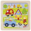 Puzzle de Encaixar de 9 peças - Goki