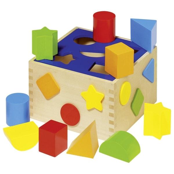 Caixa de formas e cores de encaixar - Goki