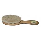 Escova de cabelo de cerdas macias para bebé